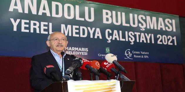 """""""Anadolu – Yerel Medya Çalıştayı 2021"""" sonuç bildirgesi yayımlandı:  Türkiye, 2021 yılı Basın Özgürlüğü Endeksi'nde 180 ülke arasında 153. sırada yer almıştır!"""