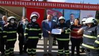 Hatay Büyükşehir Belediye Başkanı Lütfü Savaş: Kadın gönüllü İtfaiyecilerin sayısı artacak