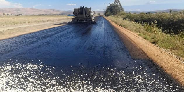 Hatay Büyükşehir Belediyesi Yol yapımında hız kesmiyor