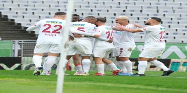 Atakaş Hatayspor zorlu Fatih Karagümrük deplasmanından bir puanla döndü: 1-1
