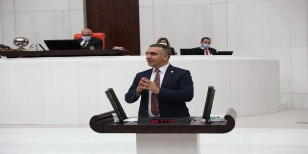 MHP Hatay Milletvekili Lütfi Kaşıkçı: Türkiye'nin Kooperatifçilikte gelişmiş ülkelere oranla oldukça geride!