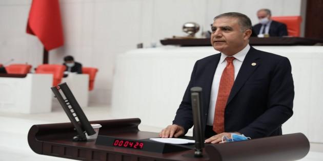 CHP Hatay Milletvekili Mehmet Güzelmansur: Hatay'da Borç, İcra, Konkordato, Yoksulluk artıyor!