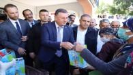 Hatay Büyükşehir Belediyesi ücretsiz süt dağıtımına başladı