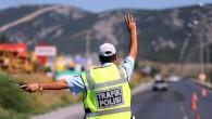 Trafik ekipleri, bir haftada 25.866 aracı kontrol etti