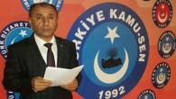 Türkiye Kamu-Sen Hatay  İl Başkanı Hayri Şahin: Çarşı ve pazardaki yangın söndürülmelidir!