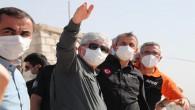 Hatay Valisi Rahmi Doğan, AFAD Başkanı Yunus Sezer İle Birlikte İdlip'deki Briket Evleri İnceledi