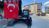 Yayladağı Belediyesi'nin Araç filosuna Paletli Kepçe Ekskavatör de katıldı!