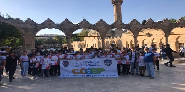 Toplum Destekli  Polis'ten Gaziantep ve Şanlıurfa'ya gezi!