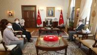 İstanbul Süryani Katolik Vakfı  Başkanı Zeki Basatemir'den  Vali Doğan'a, Ziyaret