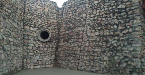Hatay Büyükşehir Belediyesinden tehlikeli bölgelere Taş duvar