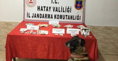 Reyhanlı ilçesinde 55 gram Eroin yakalandı