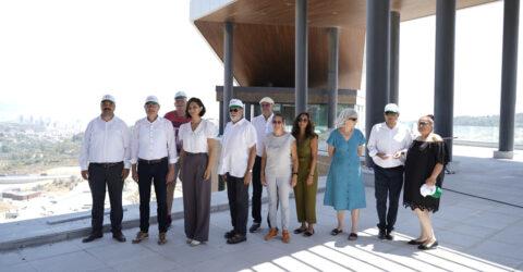 Aalen Belediye Başkanı Thilorentscler'den EXPO alanına ziyaret